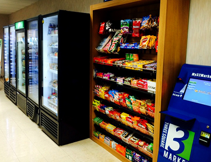 Customize your Break Room or Micro Market with the multiple options from Three Square Market